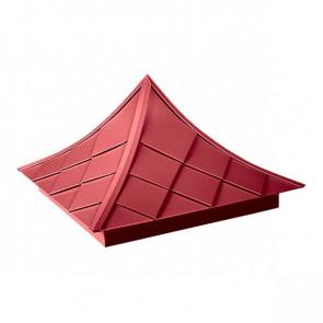 Колпак №-6 полиэстер RAL 3003 (рубиново-красный)