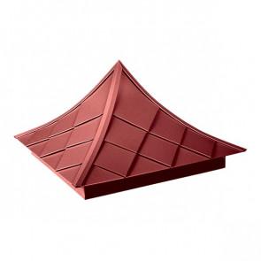 Колпак №-6 полиэстер RAL 3011 (коричнево-красный)