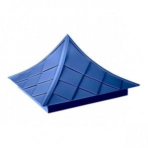 Колпак №-6 полиэстер RAL 5005 (сигнальный синий)