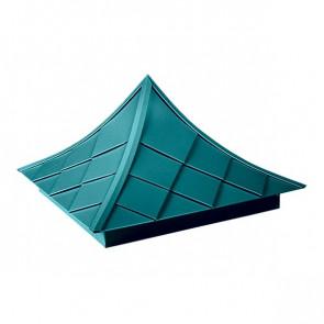 Колпак №-6 полиэстер RAL 5021 (водная синь)