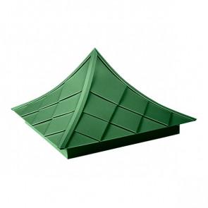 Колпак №-6 полиэстер RAL 6002 (лиственно-зеленый)