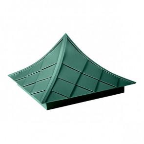Колпак №-6 полиэстер RAL 6005 (зеленый мох)