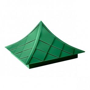 Колпак №-6 полиэстер RAL 6029 (мятно-зеленый)
