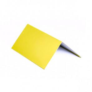 Конек (150 *150), 1,25 м, полиэстер RAL 1018 (цинково-желтый)
