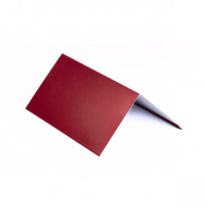 Конек (150 *150), 1,25 м, полиэстер RAL 3003 (рубиново-красный)