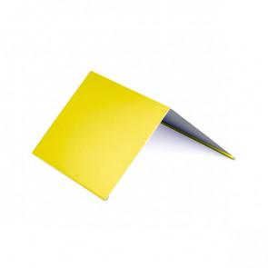 Конек (200*200), 1,25 м, полиэстер RAL 1018 (цинково-желтый)