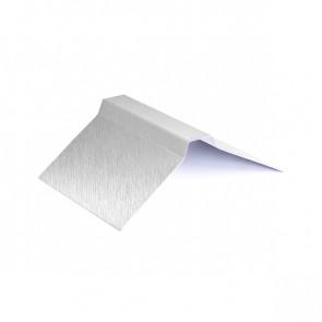 Конек фигурный (150*150), 1,25 м, Zn (оцинкованная сталь)