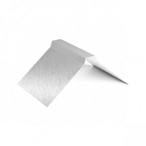 Конек фигурный (200*200), 1,25 м, Zn (оцинкованная сталь)