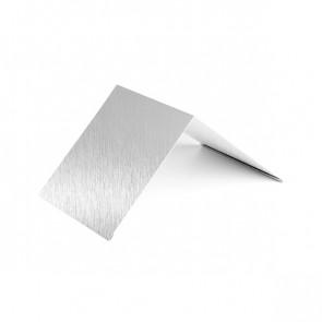 Конек узкий (100*100), 1,25 м, Zn (оцинкованная сталь)