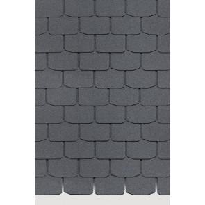 Гибкая черепица DOCKE STANDARD КРОНА (333*1000), цвет серый