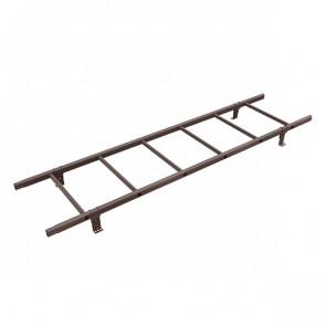 Лестница кровельная BORGE 1800 мм RAL 8017 (шоколадно-коричневый) в комплекте