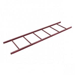 Секция лестницы кровельной BORGE 1800 мм RAL 3005 (винно-красный)