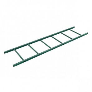 Секция лестницы кровельной BORGE 1800 мм RAL 6005 (зеленый мох)