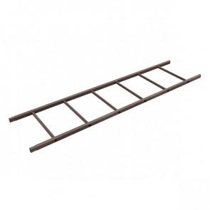 Секция лестницы кровельной BORGE 1800 мм RAL 8017 (шоколадно-коричневый)