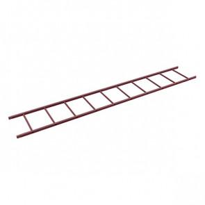 Секция лестницы кровельной BORGE 3000 мм RAL 3005 (винно-красный)
