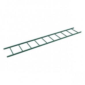 Секция лестницы кровельной BORGE 3000 мм RAL 6005 (зеленый мох)