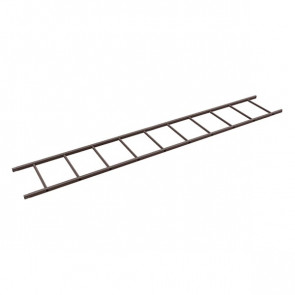 Секция лестницы кровельной BORGE 3000 мм RAL 8017 (шоколадно-коричневый)