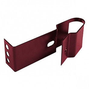 Кронштейн для крепления кровельной лестницы RAL 3005 (винно-красный)