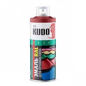 Краска-эмаль для металлочерепицы и профнастила аэрозольный баллончик 520 мл RAL 3003 (рубиново-красный)