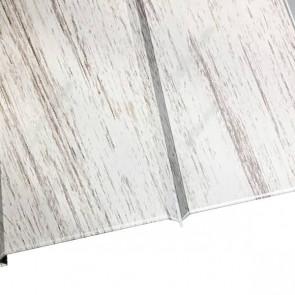 """Металлосайдинг """"Эльбрус"""" в пленке (264/240) 0,5 ECOSTEEL матовый беленый дуб"""