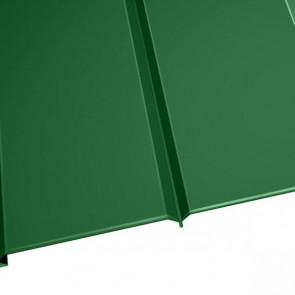 """Металлосайдинг """"Эльбрус"""" в пленке (264/240) 0,5 полиэстер RAL 6002 (лиственно-зеленый)"""