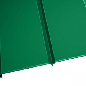 """Металлосайдинг """"Эльбрус"""" в пленке (264/240) 0,5 полиэстер RAL 6029 (мятно-зеленый)"""