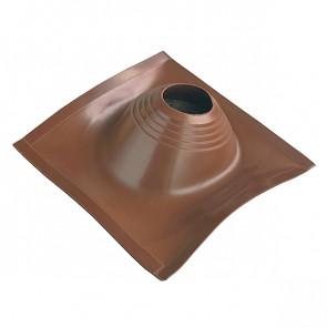 Манжета кровельная угловая «ПРОФИ» D=203/280, коричневая, силикон
