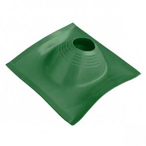 Манжета кровельная угловая «ПРОФИ» D=203/280, зеленая, силикон