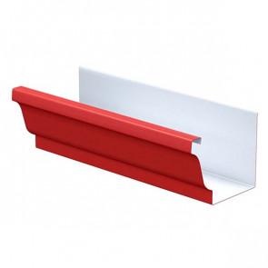 Желоб водосточный 120*86*3000 «МП Модерн», RAL 3011 (коричнево-красный)
