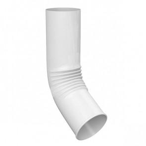Колено сливное D 150 (отвод) «МП Проект», RAL 9003 (сигнальный белый)