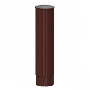 Труба водосточная D 150*1000 «МП Проект», RAL 8017 (шоколадно-коричневый)