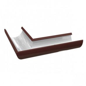 Угол желоба универсальный D 185 «МП Проект», RAL 8017 (шоколадно-коричневый)