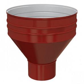 Воронка водосборная D 350/150 «МП Проект», RAL 3011 (коричнево-красный)