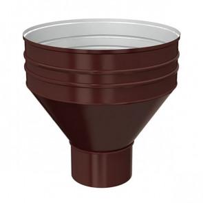 Воронка водосборная D 350/150 «МП Проект», RAL 8017 (шоколадно-коричневый)