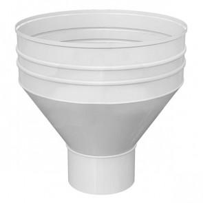 Воронка водосборная D 350/150 «МП Проект», RAL 9003 (сигнальный белый)