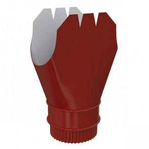 Воронка выпускная D 185/150 «МП Проект», RAL 3011 (коричнево-красный)
