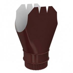 Воронка выпускная D 185/150 «МП Проект», RAL 8017 (шоколадно-коричневый)