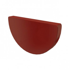 Заглушка желоба D 185 «МП Проект», RAL 3011 (коричнево-красный)