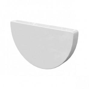 Заглушка желоба D 185 «МП Проект», RAL 9003 (сигнальный белый)