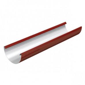 Желоб водосточный D 185*3000 «МП Проект», RAL 3011 (коричнево-красный)