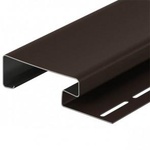 Наличник для винилового сайдинга DOCKE (3600*89) шоколад