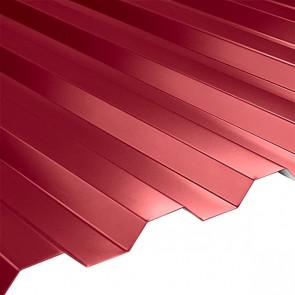 Профнастил НС-21 (1080/1000) 0,45 полиэстер RAL 3003 (рубиново-красный)