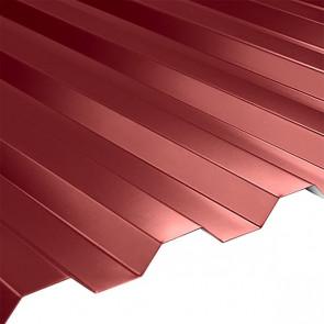 Профнастил НС-21 (1080/1000) 0,5 полиэстер RAL 3011 (коричнево-красный)