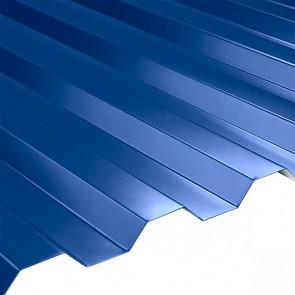 Профнастил НС-21 (1080/1000) 0,5 полиэстер RAL 5005 (сигнальный синий)