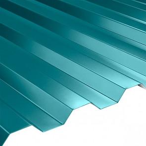 Профнастил НС-21 (1080/1000) 0,5 полиэстер RAL 5021 (водная синь)