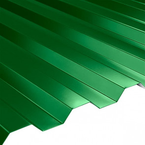Профнастил НС-21 (1080/1000) 0,45 полиэстер RAL 6002 (лиственно-зеленый)