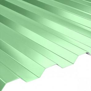 Профнастил НС-21 (1080/1000) 0,45 полиэстер RAL 6019 (бело-зеленый)