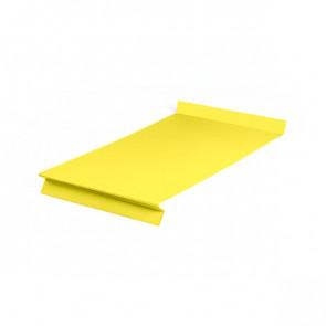 Отлив оконный (20x350x20x20)*2000 полиэстер RAL 1018 (цинково-желтый)