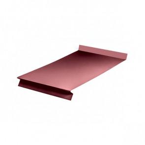 Отлив оконный (20x350x20x20)*1250 стальной бархат RAL 3005 (винно-красный)