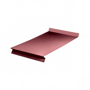 Отлив оконный (20x350x20x20)*2000 полиэстер RAL 3005 (винно-красный)